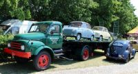 Old Cars & old Hanomag Truck