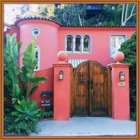 Pink House, Hollywood Hills, California