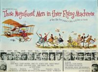 THOSE MAGNIFICENT MEN IN THEIR FLYING MACHINES - 1965 POSTER  STUART WHITMAN, JAMES FOX, SARAH MILES
