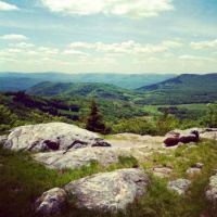 View from Bald Knob West Virginia, USA
