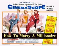 HOW TO MARRY A MILLIONAIRE - 1953  MARILYN MONROE, BETTY GRABLE, LAUREN BACALL