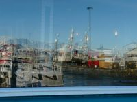 Reijkavik harbour reflection
