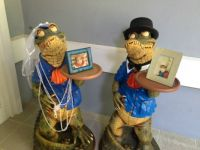 gator bride and groom