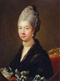 c.1775 Portrait of Queen Charlotte after Johann Zoffany