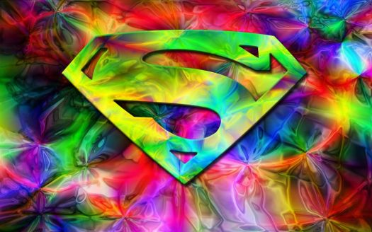 Colorful Superman