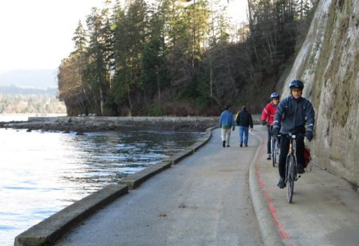 The Stanley Park Seawall