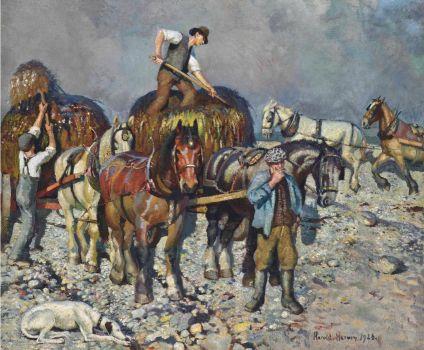 Harold C. Harvey (British, 1874–1941), Seaweed (1926)