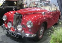 1954 Sunbeam Alpine Roadster 2.3