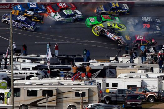 another angle from Talladega crash