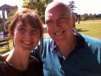 Me and my daughter at Wilton house Salisbury