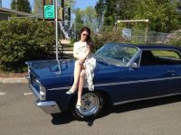 Audra on Classic Car