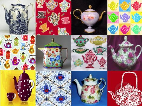TEA TIME TEAPOTS  (Also posted 1 - This puzzle may offend some people)