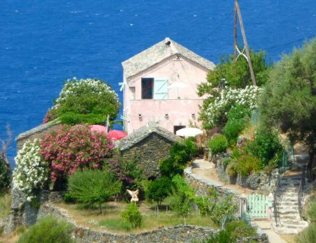 Stunning location - House in Corsica, by Zingaro. (pic cropped)