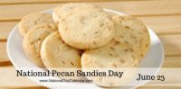 Today Is National Pecan Sandies Day!!