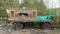 fireplace on wheels