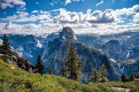 Glacier point, Half Dome, Yosemite Valley, CA