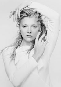 Natalie Dormer in white