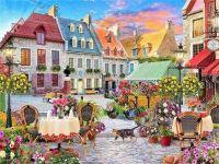 European Town Square