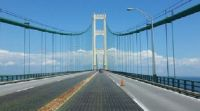 Bridge to Mackinac Island, Michigan, USA