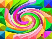 Swirled Pyramids - Tiny  Have a wonderful weekend, my dear Jigidi friends.  Hugs.