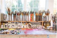 Gerson Leiber's art studio-a tribute