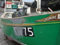 Cornwall fishing boat
