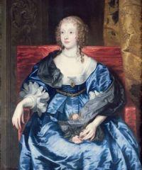 ca. 1637 Lady Anne Cecil by Sir Anthonis van Dyck