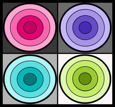 4 Bright Circles are Fun
