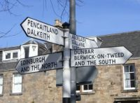 Haddington, East Lothian  - Fingerpost