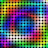 1  ~  'Rainbow Weave'
