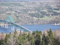 Seal Island Bridge, Cape Breton, Nova Scotia