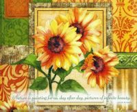 Fall Colors Sunflower Calendar Page