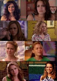 The Faces of Haley James Scott