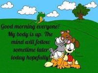 Good morning :-)