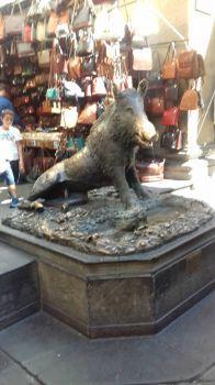 Wild boar statue in Florence