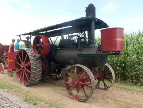Minneapolis steam traction engine
