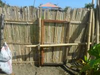 Bamboo Fence Gate