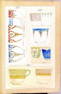Eleven Designs for Decorated Cups, Alfred Henry Forrester, ca. 1852