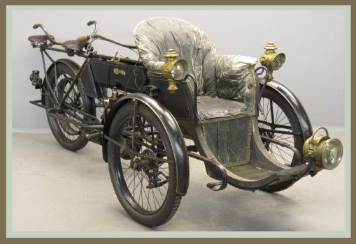 Chater-Lea 1903 forecar with tandem seat