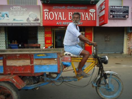 City travel in Chennai, India