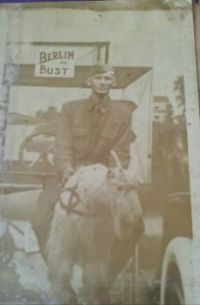 My Great Grandfather on his way to Berlin!