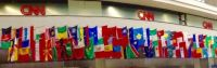 World Flags at CNN Headquarters