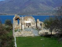 "Themes ""National Parks"" - Greece - Prespes Lakes - Byzantine ruins"