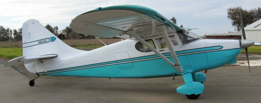 N604C at Alta Mesa Airpark, Wilton CA