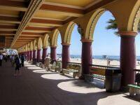 boardwalk at Santa Cruz