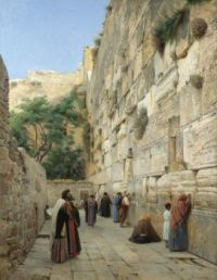 "Gustav Bauernfeind, ""The Wailing Wall"""