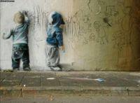 Street Art, now look in more detail