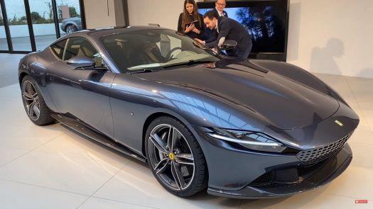 Ferrari in the shop