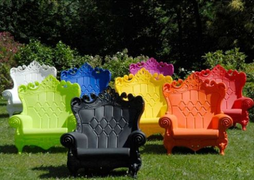 Expensive plastic lawn furniture
