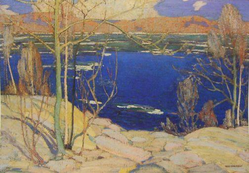 Spring Ice, Tom Thomson
